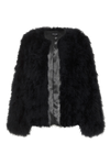 Black Feather Jacket