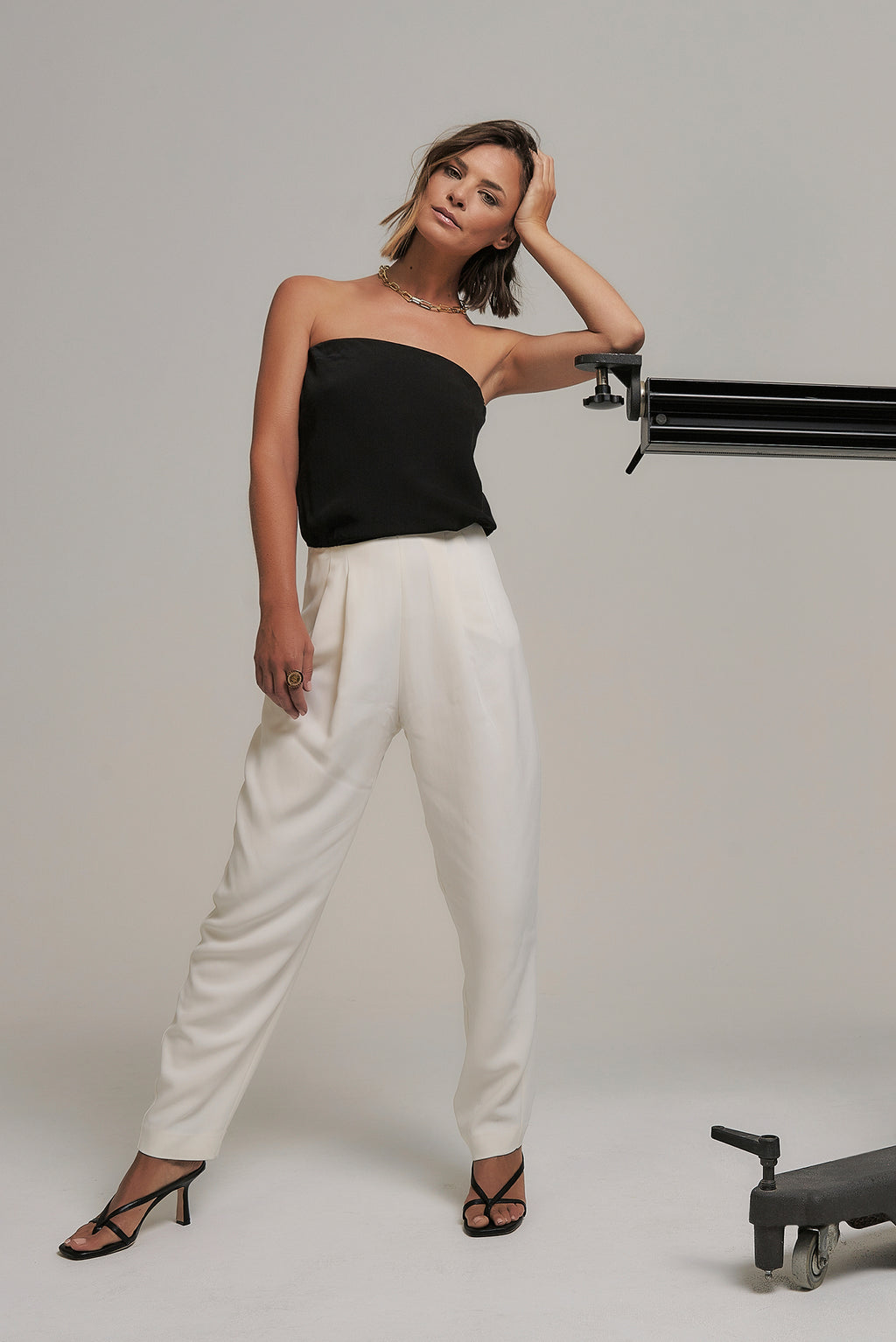 Gaia Two-Tone Jumpsuit