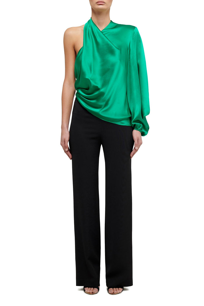 Attitude One Sleeve blouse - Emerald