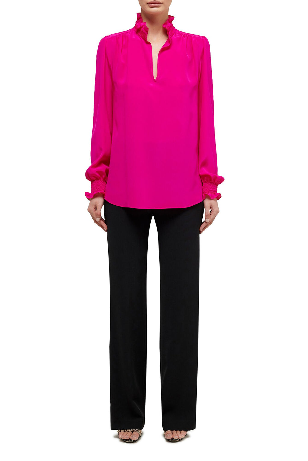 Kiki Blouse - Hot Pink