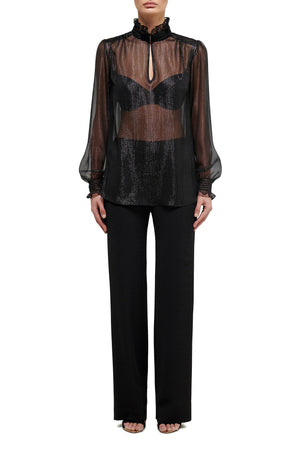 Kiki Blouse - Sheer Silk