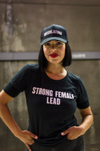 """STRONG FEMALE LEAD"" Tee, Black"
