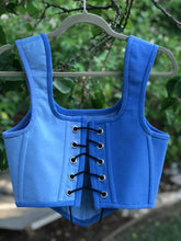 "T-SHIRT CORSET in ""Baby Blue Beluga"""