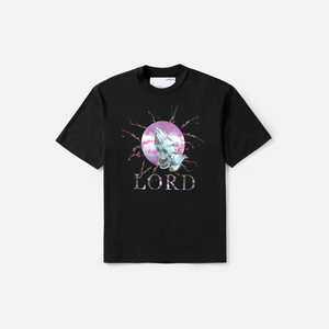 LORD lightning praying hands tee