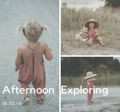 Afternoon Exploring with Isla from Monpetitamour