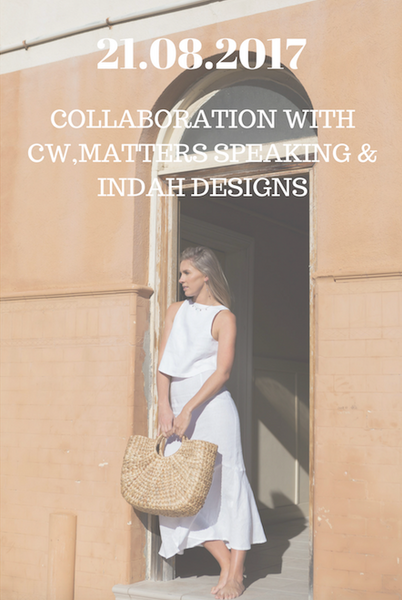 Collaboration Photoshoot With By CW The Label, Matters Speaking & Indah Designs.