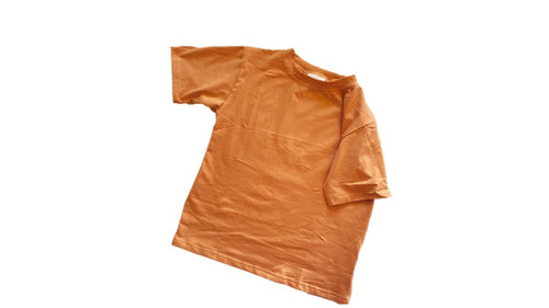Roo Oversized Tee Rust - Indah Designs