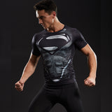 T Shirt de Compression Superman