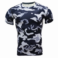 T Shirt de Compression Camouflage