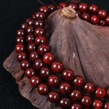 Bazien Collection,Natural Sandalwood Mala - 108 8mm Beads,boho,bohemian,boho-chic,fashion