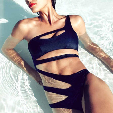 Bazien Collection,One Piece Ribbon Swimsuit,boho,bohemian,boho-chic,fashion