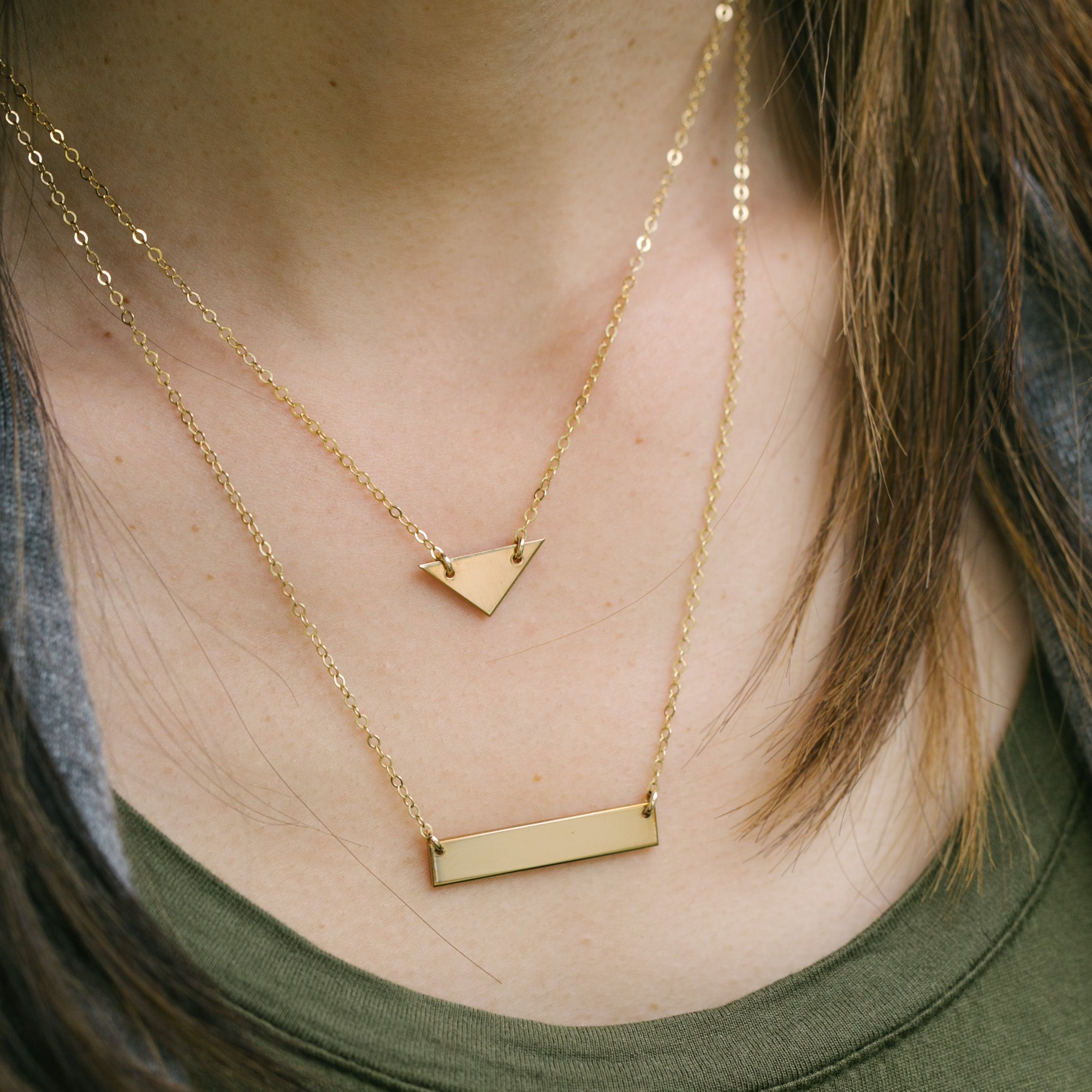 gold suzanne suzanna necklace kalan yellow mini bar