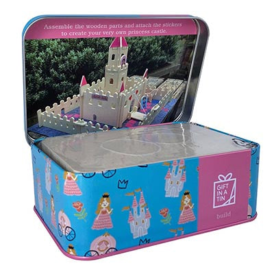 Magical Princess Castle in a Tin