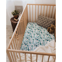 Fitted Cot Sheet - Arizona