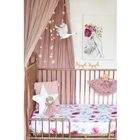 Fitted Cot Sheet - Wanderlust