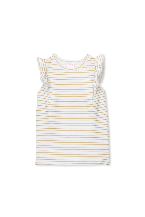 Gold Stripe Tee