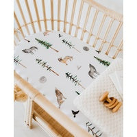 Bassinet Sheet/Change Pad Cover - Alpha