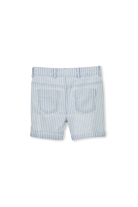 Denim Stripe Short