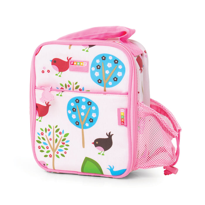 Bento Cooler Bag with Pocket - Chirpy Bird