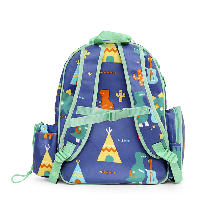 Large Backpack - Dino Rock