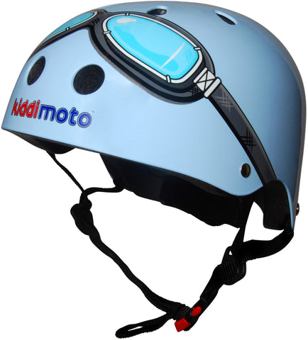 Blue Goggle Helmet - Medium
