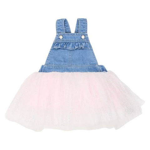 Confetti Overall Tutu Dress