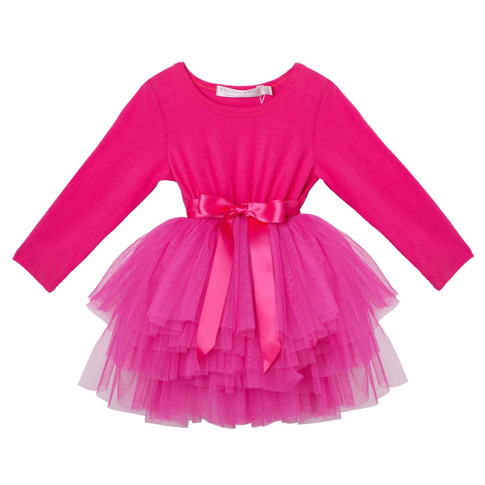 My First Tutu - Hot Pink Long Sleeve