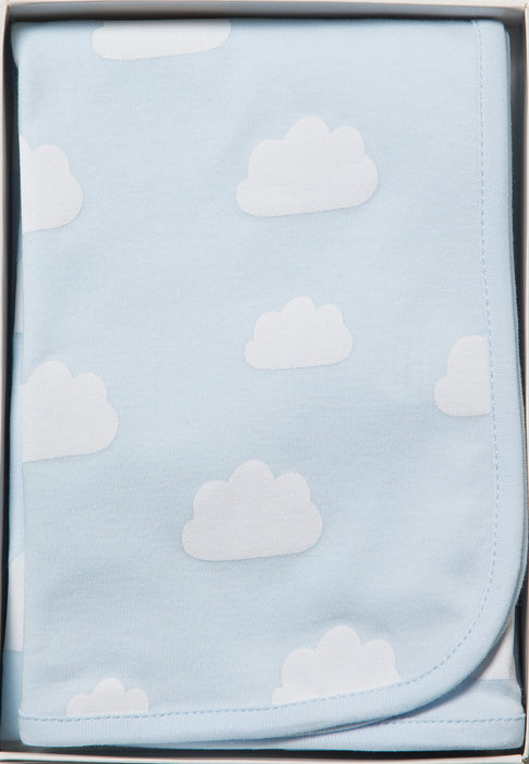 Pale Blue Clouds Wrap