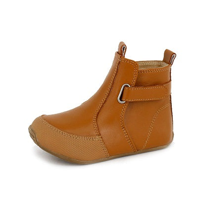 Leather Cambridge Boots - Tan