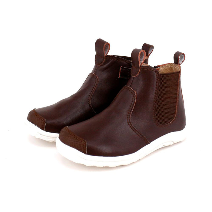 Denver Leather Boot - Brown