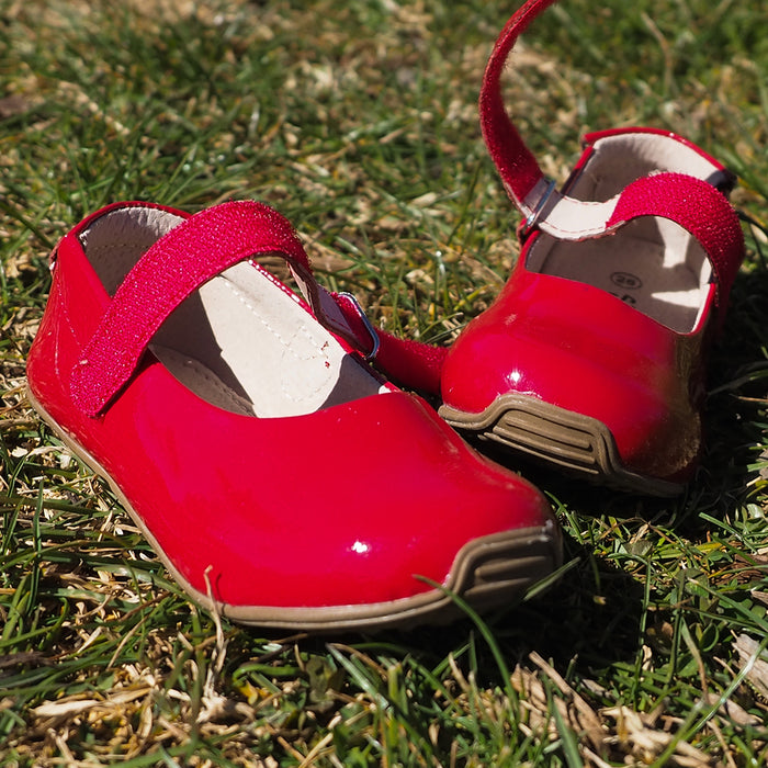Mary Jane Patent Leather - Red