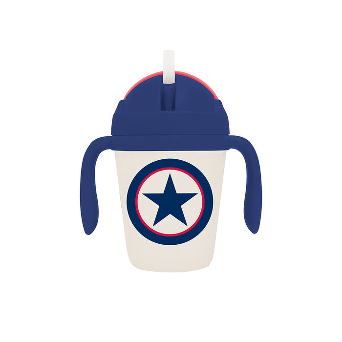 Bamboo Sippy Cup - Navy Star