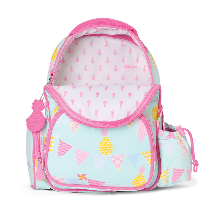 Medium Backpack - Pineapple Bunting