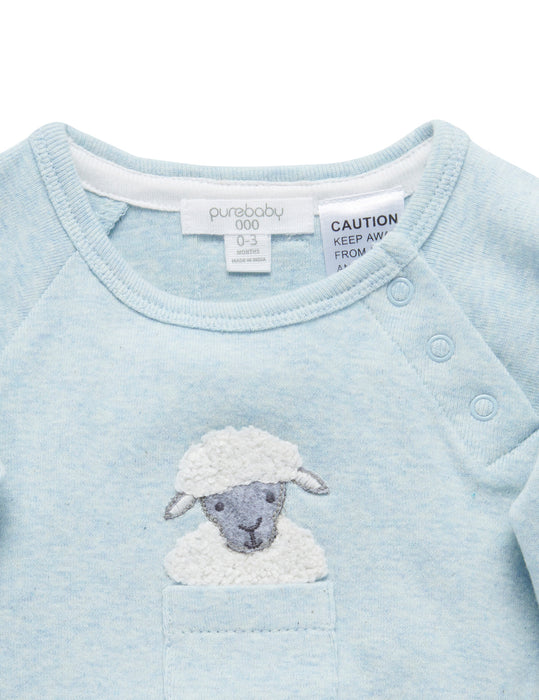 Sheep Peekaboo Bodysuit