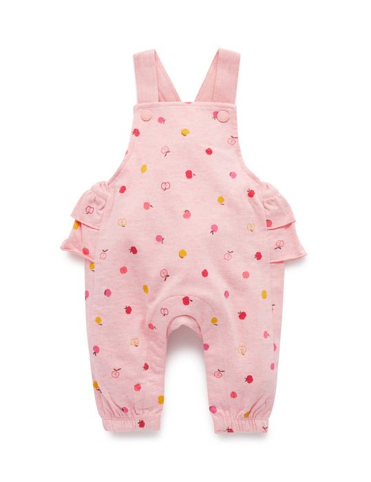 Orchard Apple ruffle Overalls