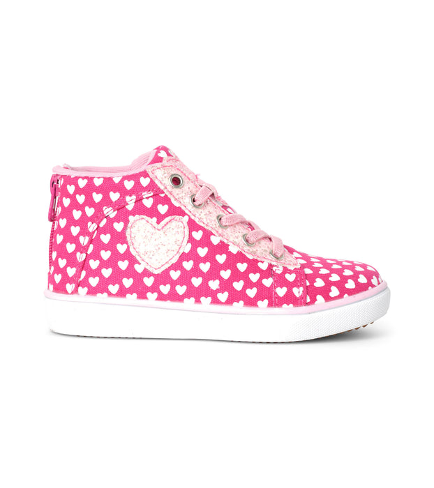 Lots of Hearts High Top Sneakers