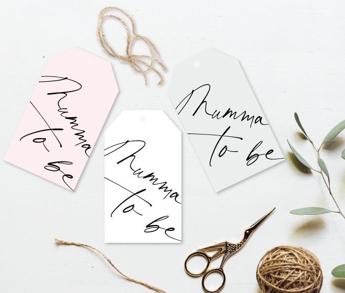 Mumma to be Gift Tag - Signature Collection