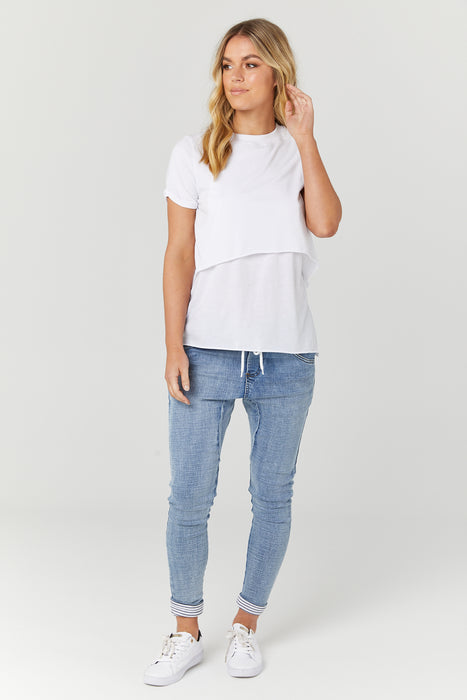 Vanance Tee II - White
