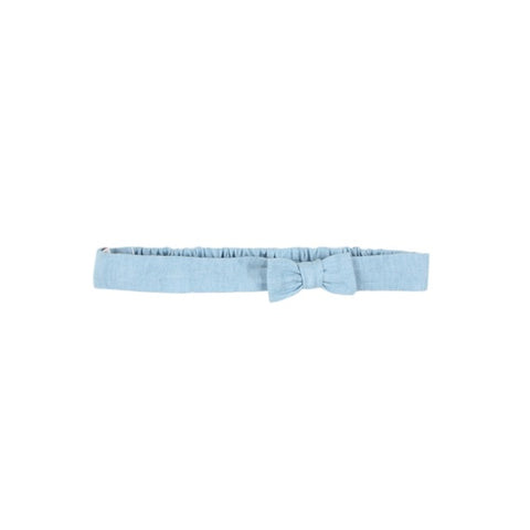 Alexa Denim Headband with Bow