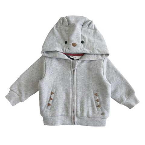 Oskar Bear Hooded Jacket