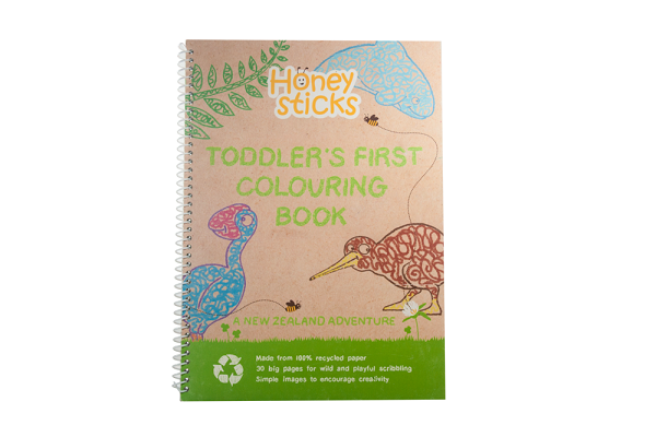 Honeysticks Colouring In Book - Australian Adventure