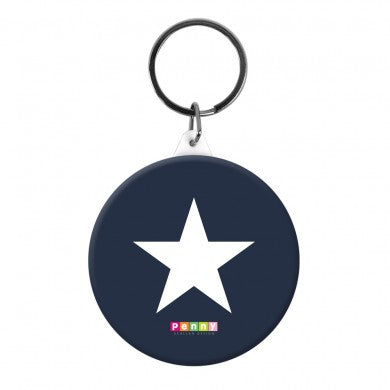 Bag Tag - Navy Star