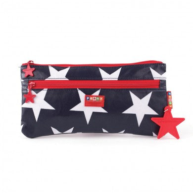 Pencil Case - Navy Star