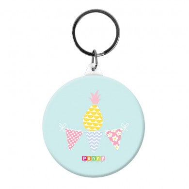 Bag Tag - Pineapple Bunting