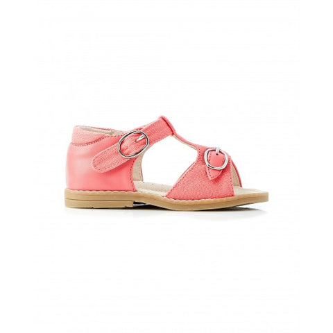 Rocket Canvas Sandal - Coral