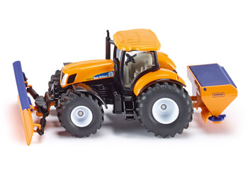 Tractor with Ploughing Plate - 1:50 Scale