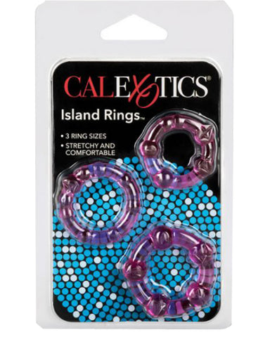 Silicone Island Rings (Pink)