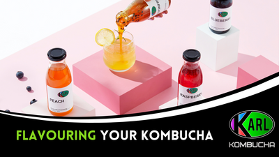 Flavouring your Kombucha!