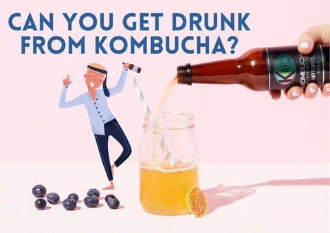 Can you get drunk from kombucha?