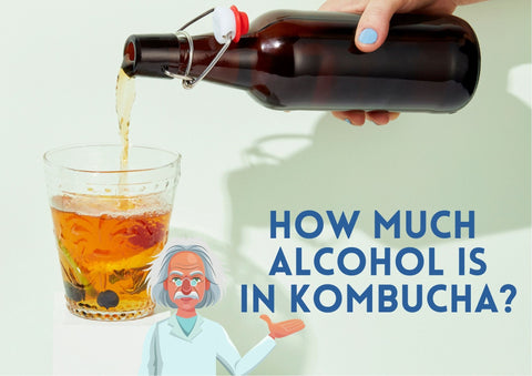 How Much Alcohol is in Kombucha?